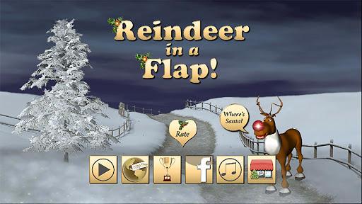 Reindeer in a Flap