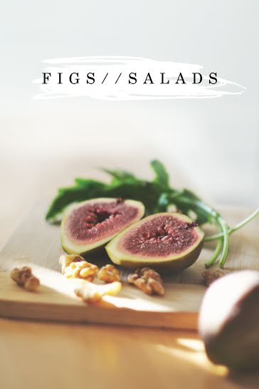 Figs & Salads - Pinterest Pin Template