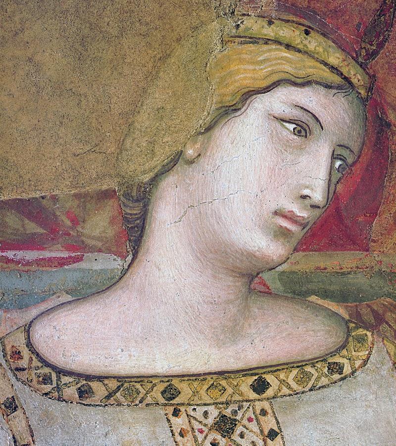 Ambrogio Lorenzetti, Effetti del Buon Governo, (particolare della Concordia), Sala della Pace, Palazzo Pubblico, Siena