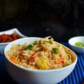 Schezwan Fried Rice Recipe,How to Make Schezwan Fried Rice | Indo Chinese Recipes Recipe