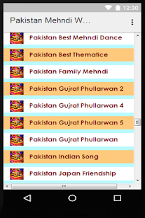 Pakistani Mehndi Wedding Songs Screenshot Thumbnail