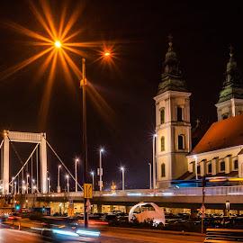 by Albin Bezjak - City,  Street & Park  Night