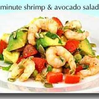 15-Minute Shrimp and Avocado Salad