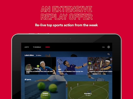 Eurosport Player screenshot 08