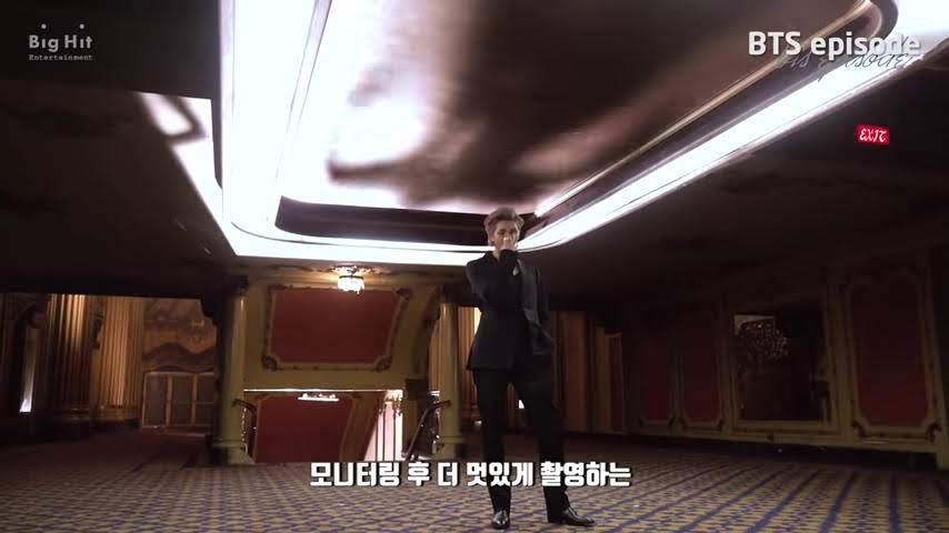 bts RM shadow in black swan