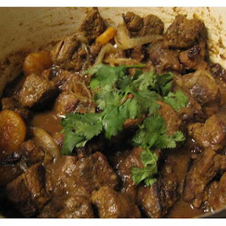 Lamb and Apricot Tagine.