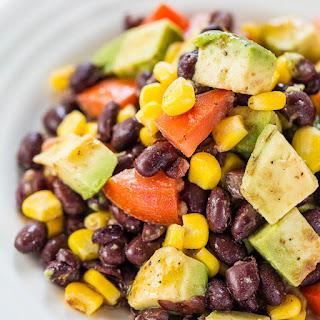 Avocado, Black Bean and Corn Salad with Lime-Cumin Vinaigrette Recipe