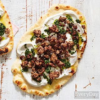 Lamb and Mint Flatbread
