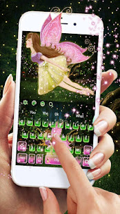 Forest Fairy Girl Keyboard