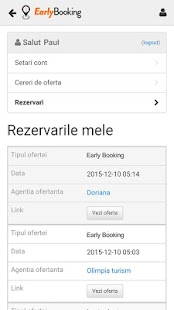 Early Booking- screenshot thumbnail