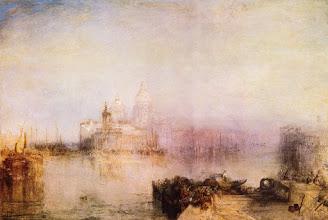 """Photo: William Turner """"La dogana e Santa Maria della Salute a Venezia"""""""