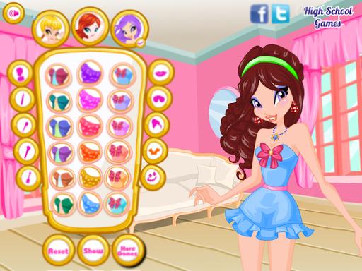 Dress up Fairy Winx