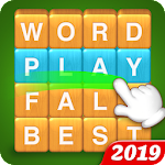Word Fall - Brain training search word puzzle game Icon