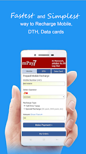 mPay7: Mobile Prepaid Recharge screenshot 0