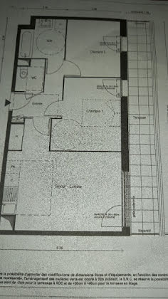 Vente appartement 3 pièces 54,3 m2