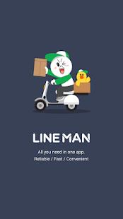 LINE MAN: Taxi, Food, Postal - náhled