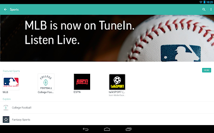 TuneIn Radio Pro - Live Radio Screenshot 2