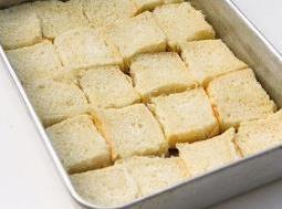 Lay 20 roll buns in pan