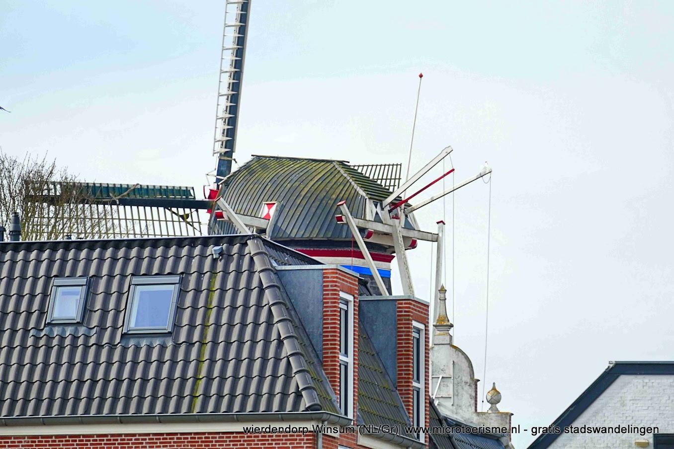 Aangeboden door: Stichting Microtoerisme InZicht Fotoblog Winsum molen ster