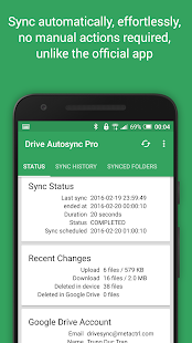 Autosync Google Drive- screenshot thumbnail