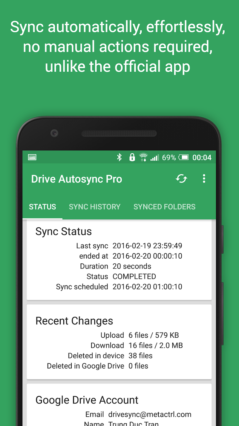 Autosync Google Drive Ultimate v4.3.1
