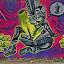 On the wall by Ciddi Biri - Street Art All Street Art ( real art, real world, graffiti, wall painting, traditional art, streetart )