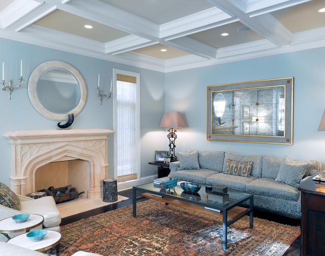"Image result for light blue  living room"""