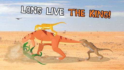 T-Rex Fights Raptors 0.3 screenshots 2