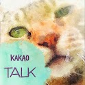 Watercolorcats - for kakaotalk icon