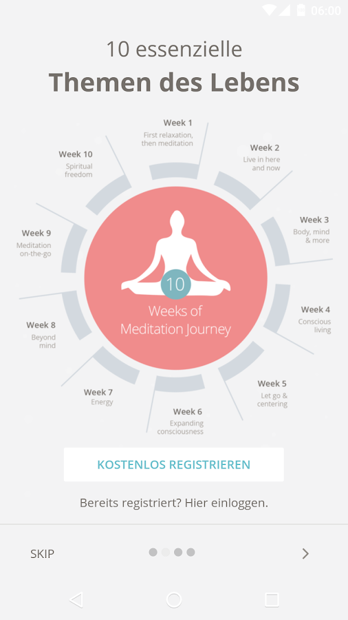 Meditation Easy – Screenshot