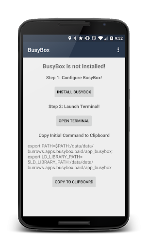 BusyBox Installer (No Root) 3.66.0.41 screenshots 1