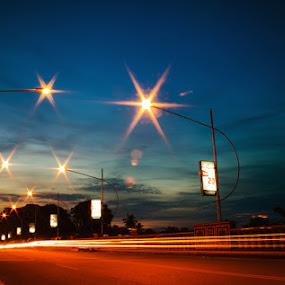 Jembatan Makalam Jambi by Octavianus Rio Herliawan - Landscapes Starscapes