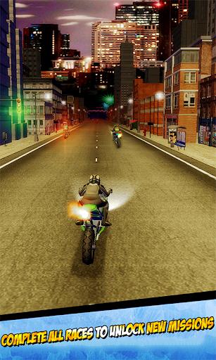 City Traffic Bike Racing