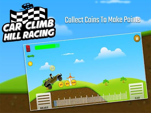 Car Climb Hill Racing 1.4 APK MOD screenshots 1