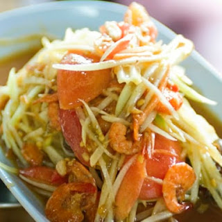 Bangkok Street Food's Green Papaya Salad.