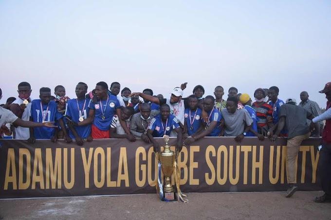 Balanga United are Adamu Yola Cup champions
