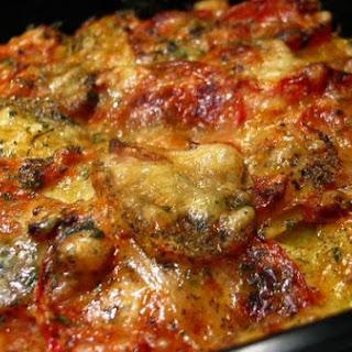 Potato Tomato Pizza