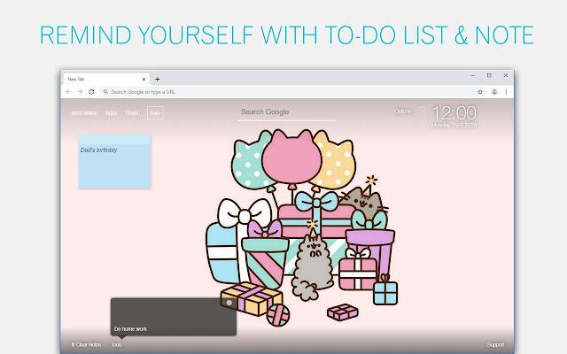 Cute Cats Pusheen Wallpapers HD Custom NewTab