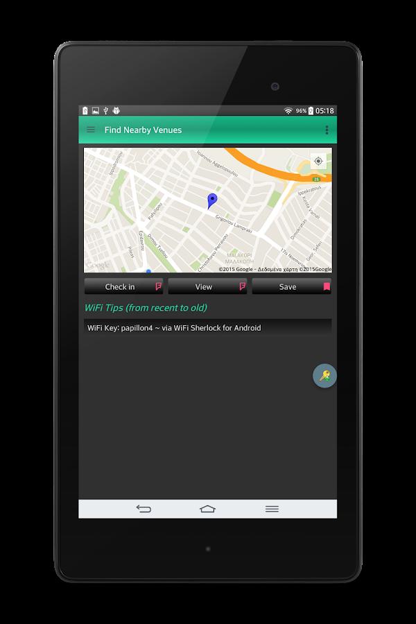 WiFi Sherlock - WiFi Finder - στιγμιότυπο οθόνης