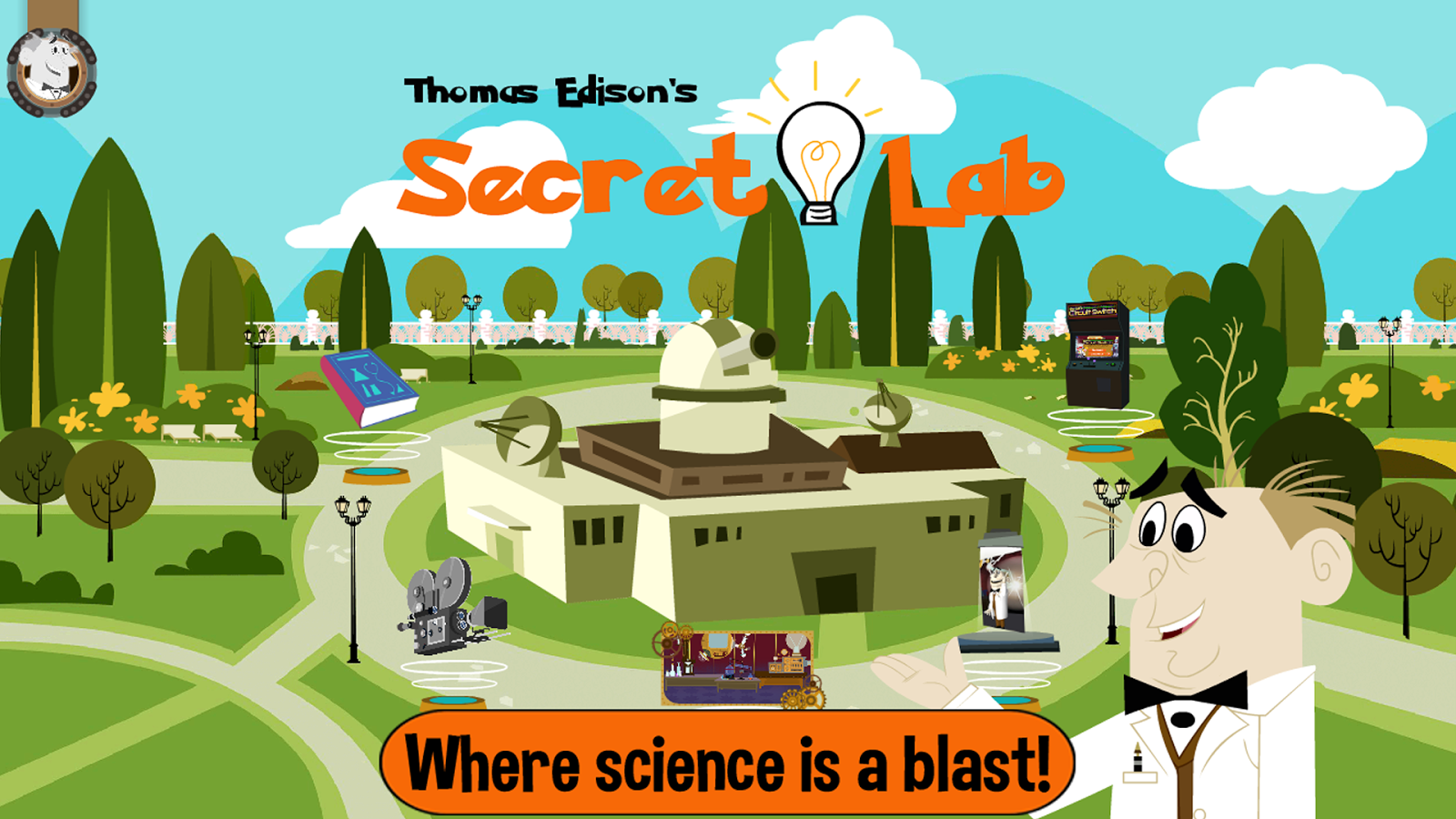 Thomas Edison's Secret Lab- screenshot