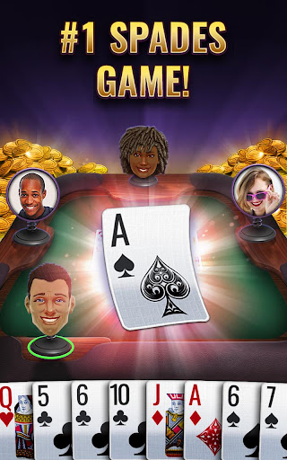 Spades Royale - Play Free Spades Cards Game Online 1.13.69 gameplay | by HackJr.Pw 6