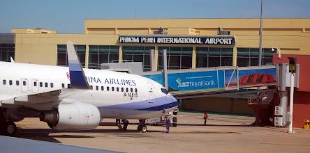 Photo: China Airlines at Phnom Penh Airport