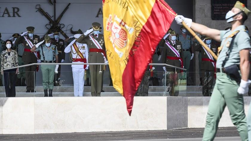 Los almerienses se suman a La Legión.