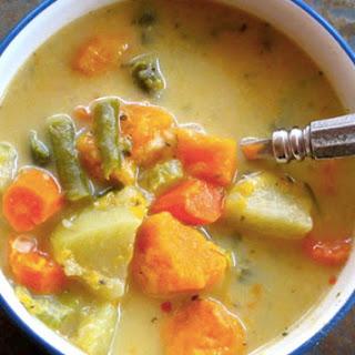 Veggie Pot Pie Stew