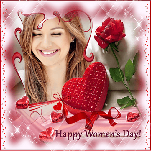 Happy Woman Day Photo Frames