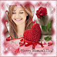 Happy Woman Day Photo Frames 2020 icon