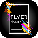 Flyers: Poster Maker, Graphic Design With Template icon