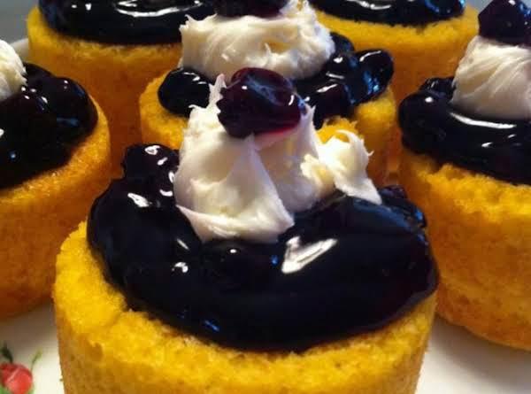 Blueberry Shortcake Bowls Recipe