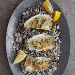 Grilled Parmesan Oysters Recipe