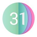 Colorful Calendar: happy events & Widgets icon